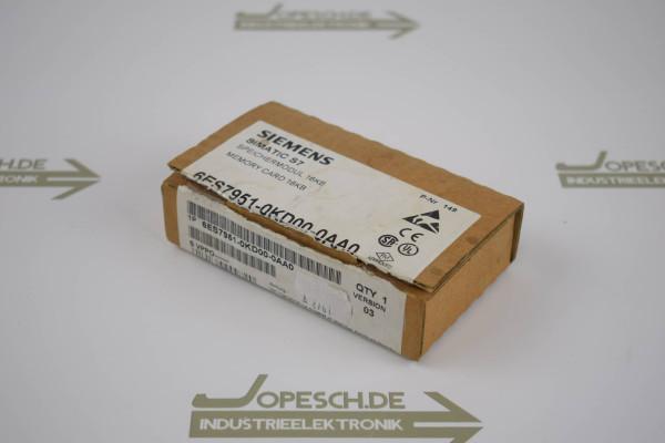 Siemens simatic S7 Memory Card 6ES7 951-0KD00-0AA0 ( 6ES7951-0KD00-0AA0 ) E3