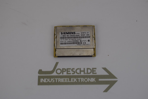 Siemens simatic S7 Memory Card 6ES7 951-0KE00-0AA0 ( 6ES7951-0KE00-0AA0 )