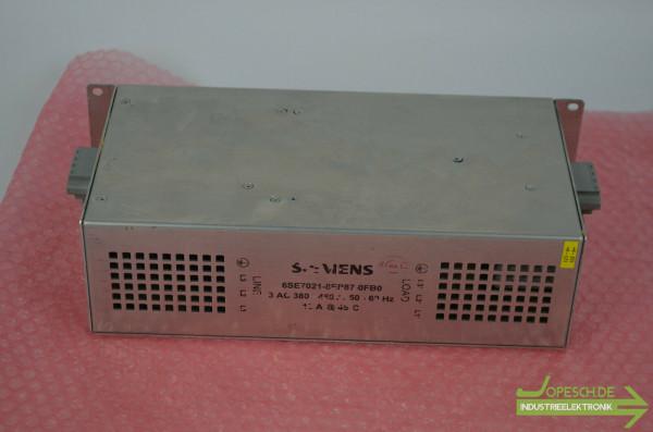 Siemens simovert Masterdrives 6SE7021-8EP87-0FB0 ( 6SE7 021-8EP87-0FB0 )