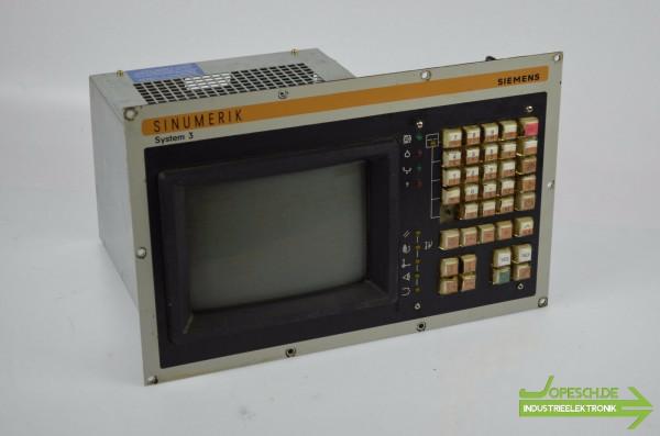 Siemens sinumerik 3T,TT,M,G,N 9'' Bedientafel 6FC3988-5MC25