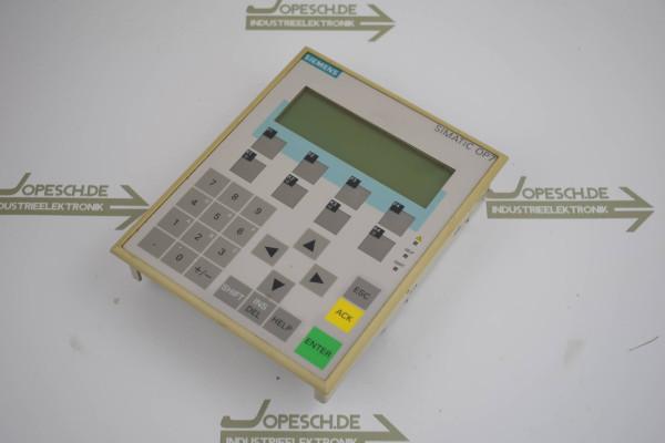 Siemens simatic OP 7-DP 6AV3 607-1JC20-0AX0 ( 6AV3607-1JC20-0AX0 ) E1