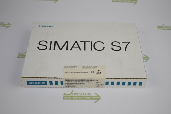 Siemens simatic S7-400 SM422 6ES7 422-5EH10-0AB0 ( 6ES7422-5EH10-0AB0 ) E2