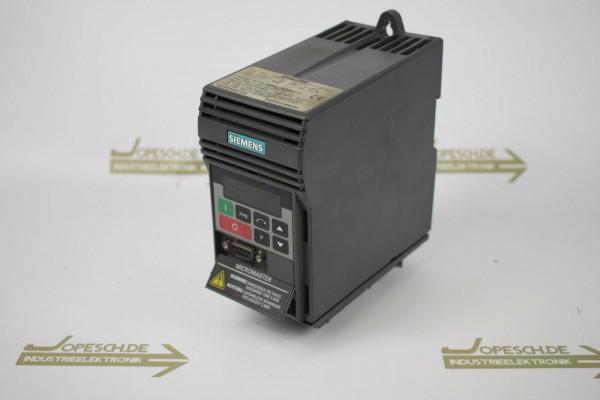Siemens Micromaster MM55 6SE9 212-8BA40