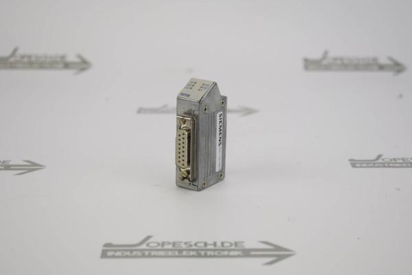 Siemens simatic net TPTR Stecker 6GK1100-0BA00 ( 6GK1 100-0BA00 )