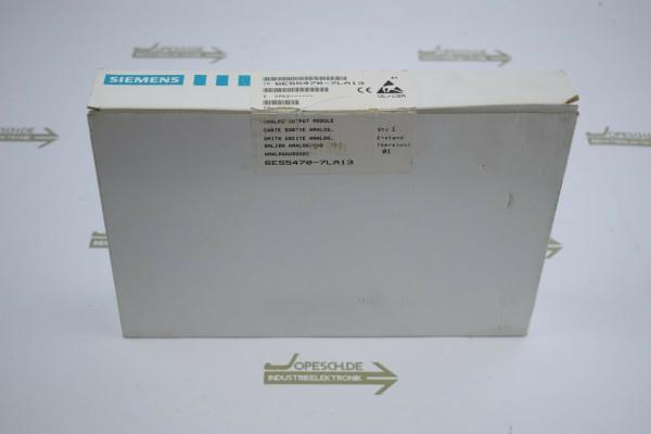 Siemens simatic S5 6ES5 470-7LA13 ( 6ES5470-7LA13 ) E1