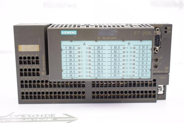 Siemens Simatic ET 200L 6ES7 131-1BL00-0XB0 inkl. 6ES7 193-1CL00-0XA0