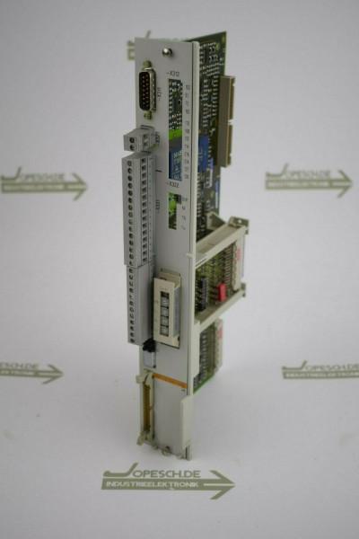 Siemens simodrive Regeleinschub 6SN1118-0AA11-0AA0 + 6SN1114-0AA01-0AA0