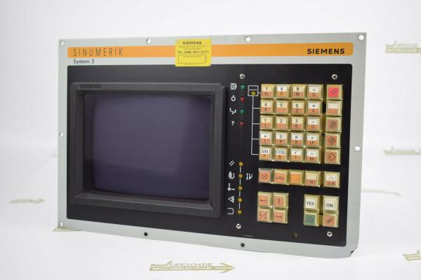 Siemens Monitor 9 Monochrome 579417 TA Magnetek Bedientafel