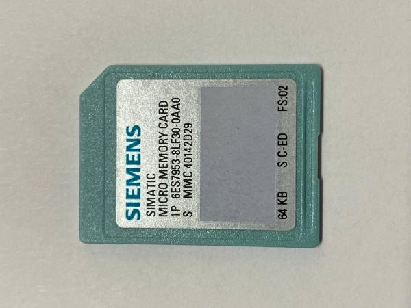 Siemens simatic MMC 64kB 6ES7953-8LF30-0AA0 ( 6ES7 953-8LF30-0AA0 )