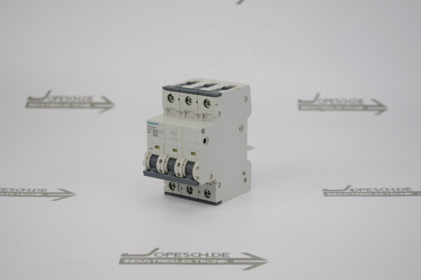 Siemens Leitungsschutzschalter 400V 5SY6406-7 MCB C6