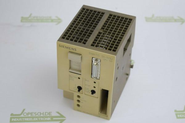 Siemens simatic S5 CPU 100 Zentralbaugruppe 6ES5 100-8MA02 ( 6ES5100-8MA02 )