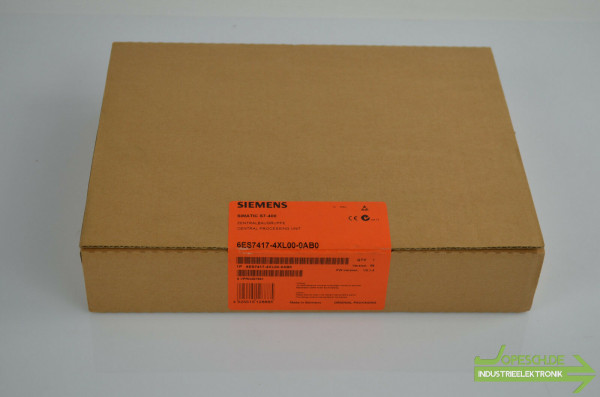 Siemens simatic S7-400 CPU417-4 6ES7417-4XL00-0AB0 ( 6ES7 417-4XL00-0AB0 )