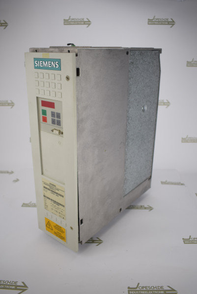 Siemens simovert VC Frequenzumrichter 6SE7021-8EB21 Ver. A