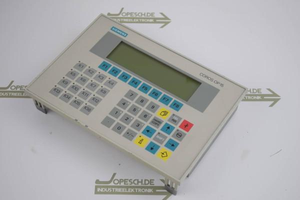 Siemens simatic OP15-C1 6AV3 515-1MA30 ( 6AV3515-1MA30 ) E4