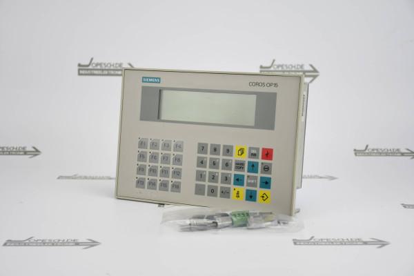 Siemens OP 15-B operator panel 4-Zeilig 6AV3515-1MA00 ( 6AV3 515-1MA00 ) E6