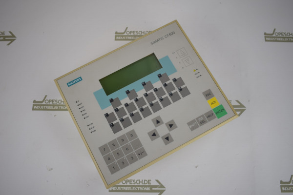 Siemens simatic C7-633 DP 6ES7633-2BF01-0AE3