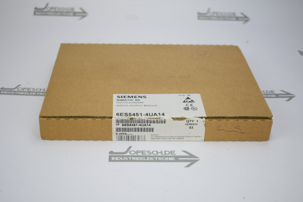 Siemens simatic S5 6ES5451-4UA14 ( 6ES5 451-4UA14 )